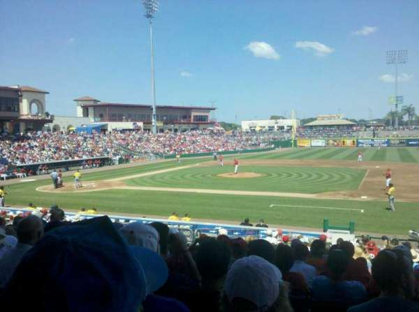 BayCare Ballpark, section: 105, row: 21, seat: 7