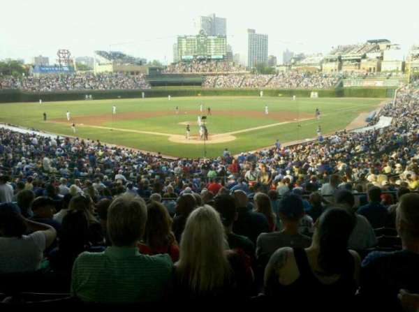 Wrigley Field, section: 217, row: 10, seat: 6