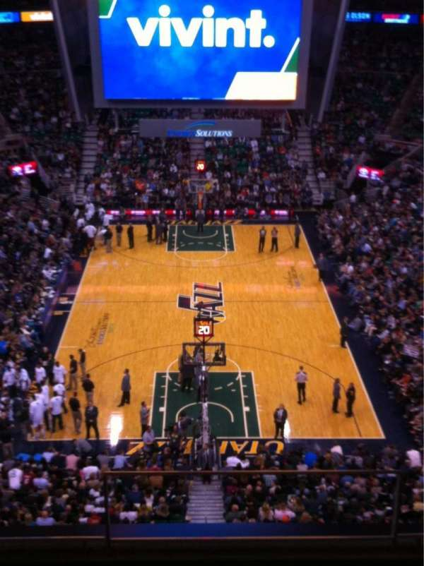 Vivint Smart Home Arena, section: 102, row: 8, seat: 4