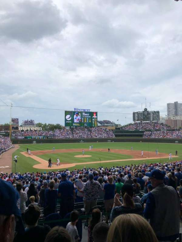 Wrigley Field, section: 220, row: 4, seat: 16