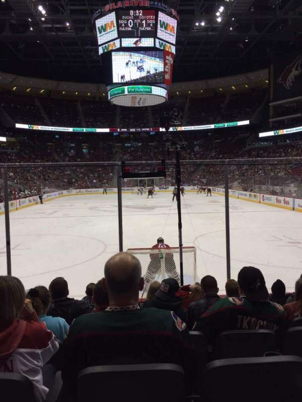 Gila River Arena, section: 117, row: G