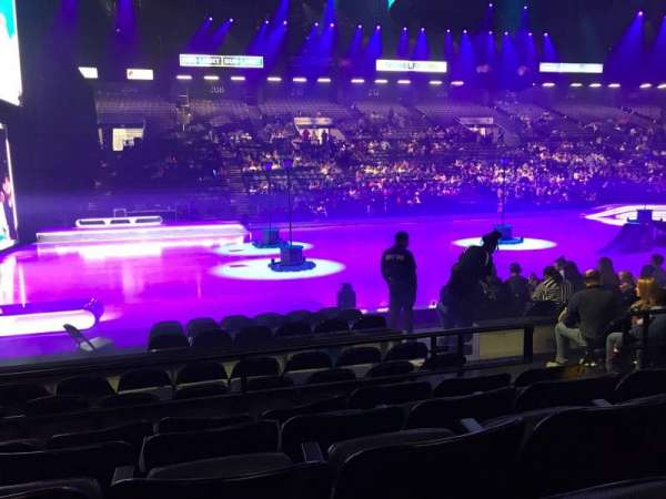 Royal Farms Arena, section: 105, row: E, seat: 7