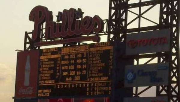 Citizens Bank Park, section: 302, row: 10, seat: 4