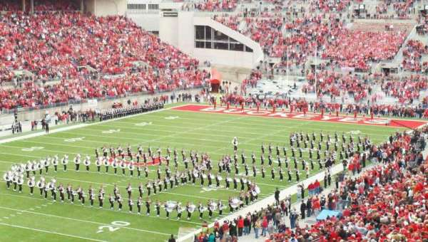 Ohio Stadium, section: 7B, row: 7, seat: 30