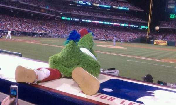Citizens Bank Park, section: 116, row: 2