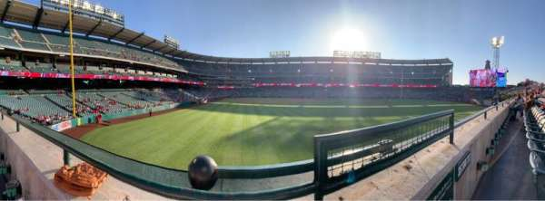 Angel Stadium, section: P236, row: A, seat: 13