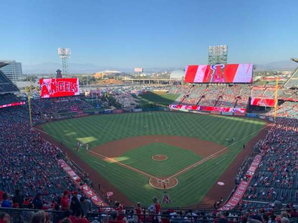 Angel Stadium, section: V520, row: J, seat: 6