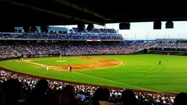 TD Ameritrade Park, section: 102, row: 34, seat: 10