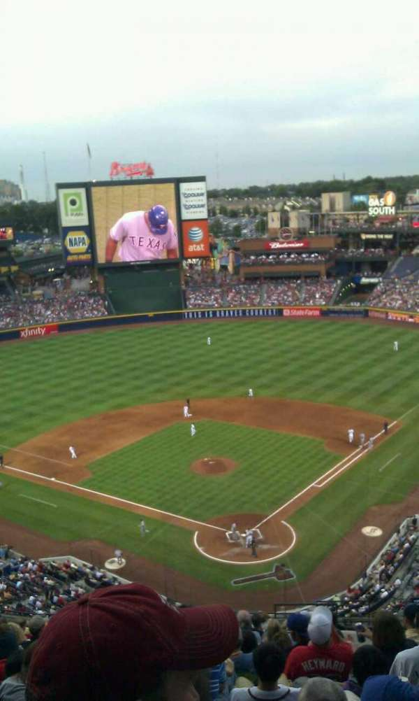Turner Field, section: 402, row: 18, seat: 106