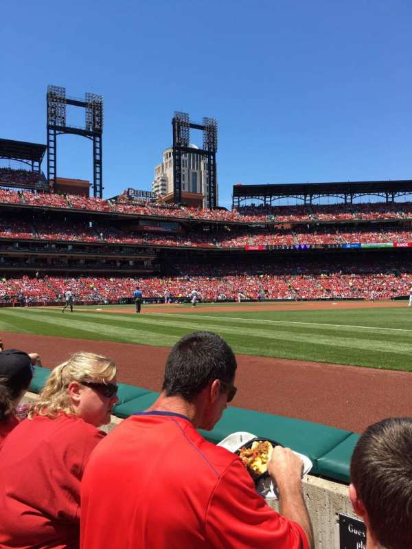 Busch Stadium, section: 137, row: B, seat: 8