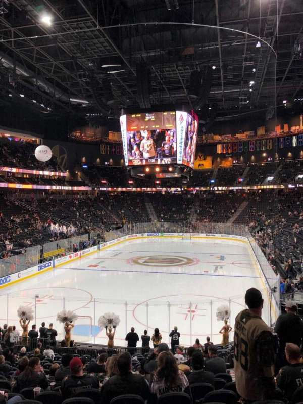 T-Mobile Arena, section: 11, row: U, seat: 17