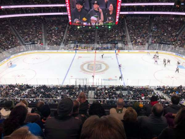 T-Mobile Arena, section: 223, row: E, seat: 14
