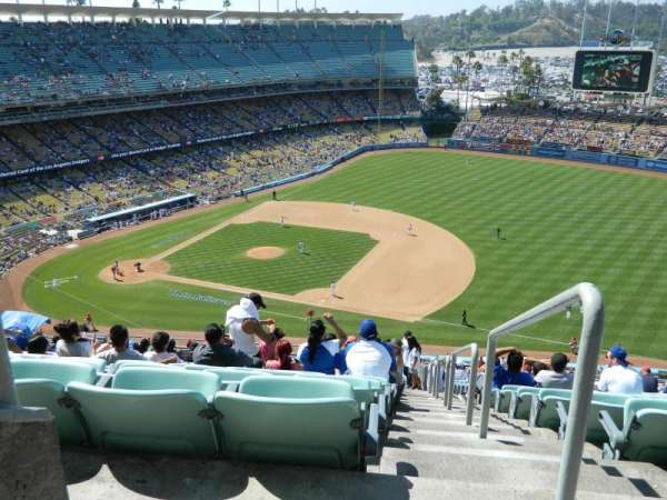 Dodger Stadium, section: 24RS