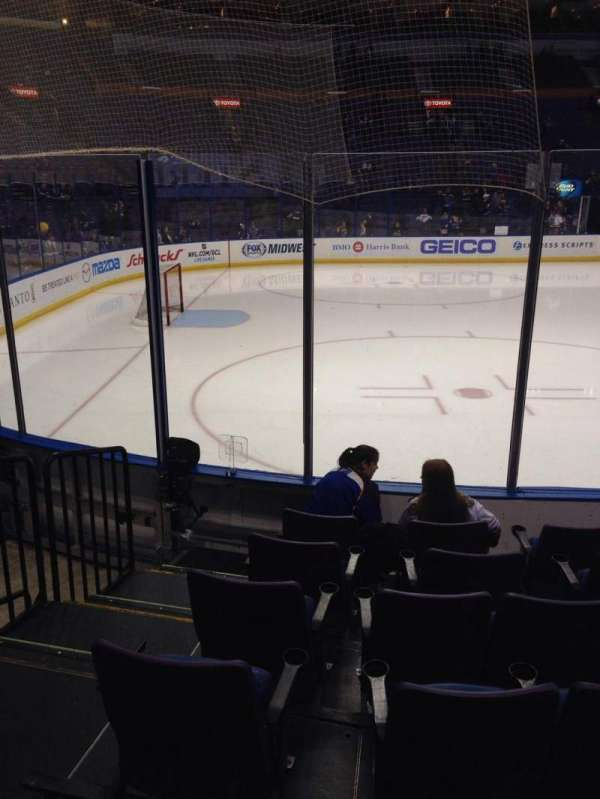 Enterprise Center, section: 118, row: G, seat: 14