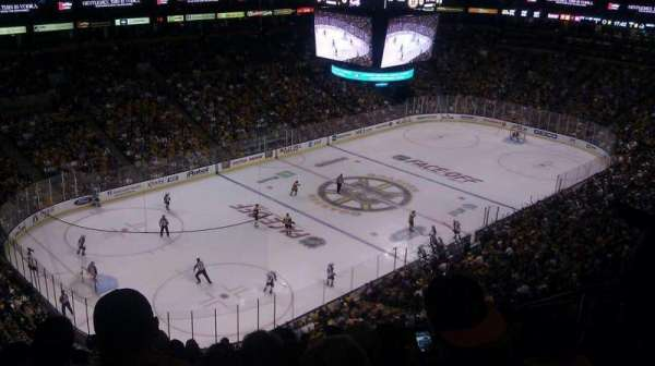 TD Garden, section: Bal 305, row: 13, seat: 9