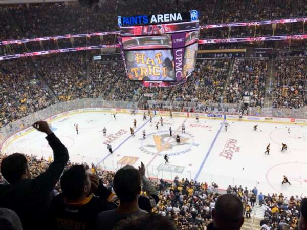 PPG Paints Arena, section: 218, row: D, seat: 6