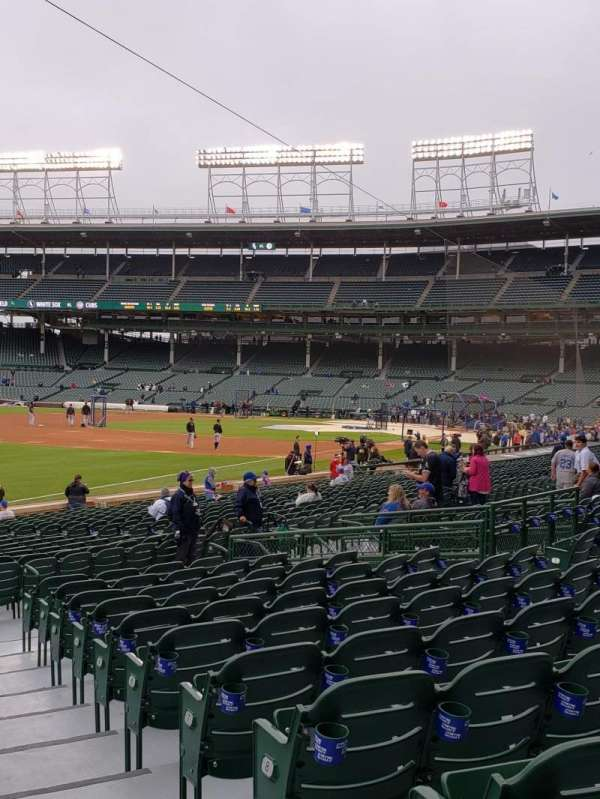 Wrigley Field, section: 104, row: 11, seat: 16