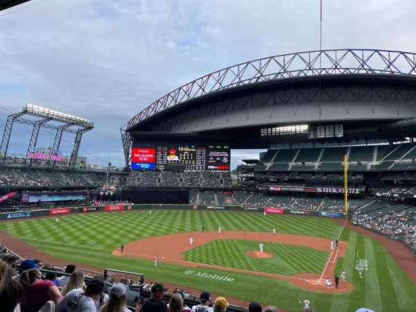 T-Mobile Park, section: 233, row: 8, seat: 8