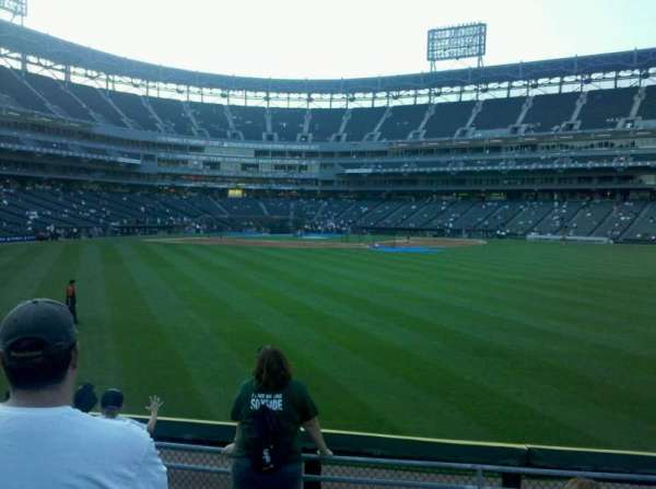 Guaranteed Rate Field, section: 102, row: 6, seat: 11