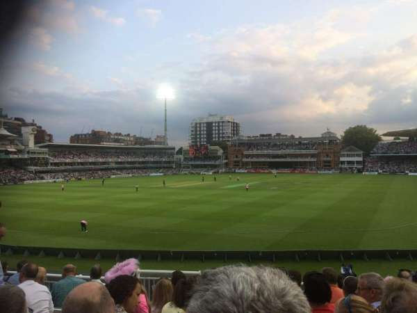 Lord's Cricket Ground, section: Crompton Upper Stand Block 17, row: J, seat: 87
