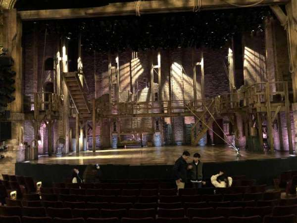 Richard Rodgers Theatre, section: Center Orchestra, row: L, seat: 106