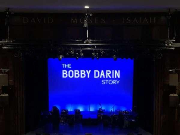 Merkin Hall at the Kaufman Music Center, section: Balcony, row: GG, seat: 107