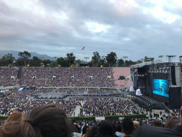 Rose Bowl, section: 19-H, row: 59, seat: 110