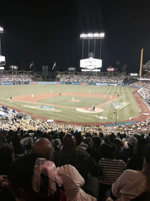 Dodger Stadium, section: 109LG, row: P, seat: 3