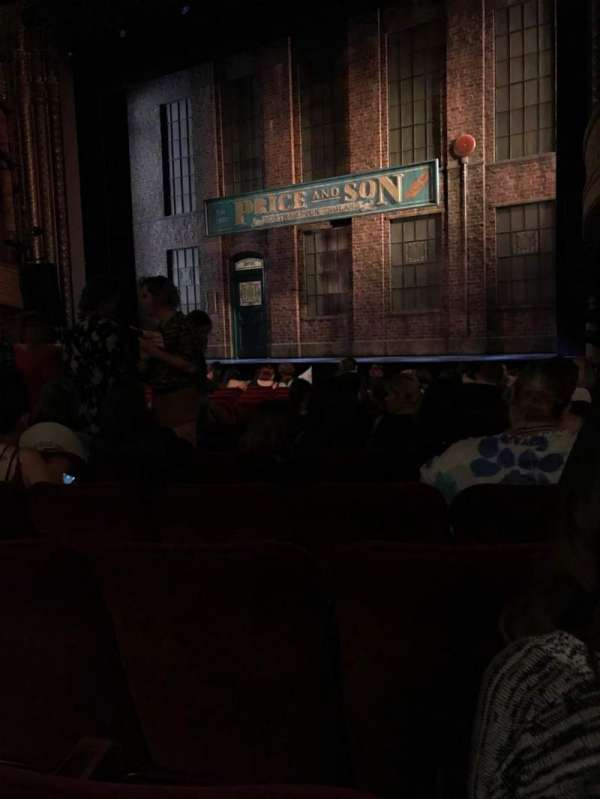 Al Hirschfeld Theatre, section: Orchestra R, row: O, seat: 14