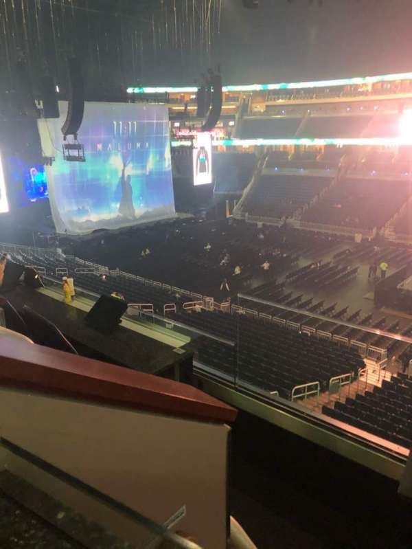 Amway Center, section: Loge Box E, row: 2, seat: 5