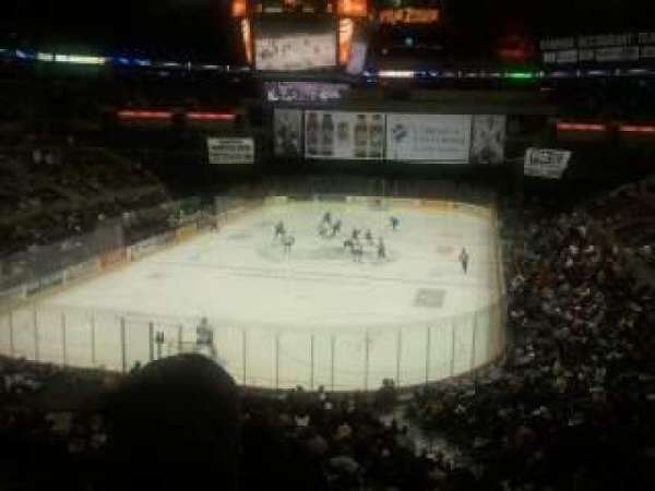 AT&T Center, section: 128, row: 32, seat: 8