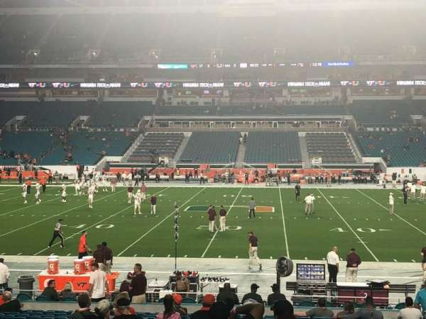 Hard Rock Stadium, section: 118, row: 23, seat: 7
