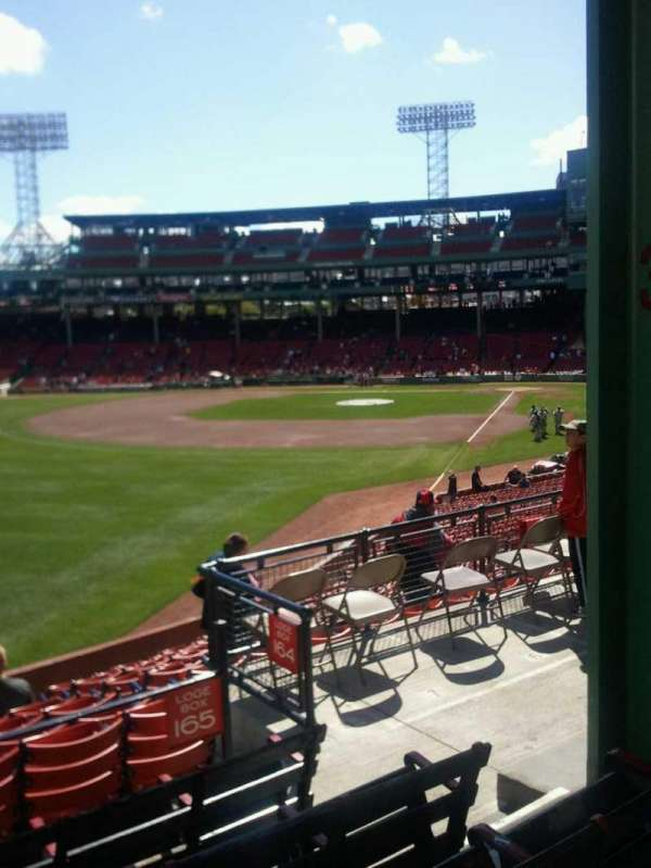 Fenway Park, section: Grandstand 33, row: 5, seat: 4