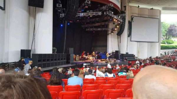 PNC Bank Arts Center, section: 104, row: u, seat: 33