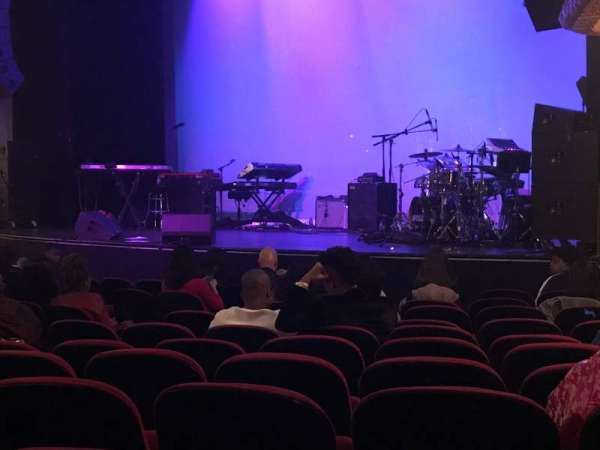 The Apollo Theater, section: Orchestra, row: K, seat: 19