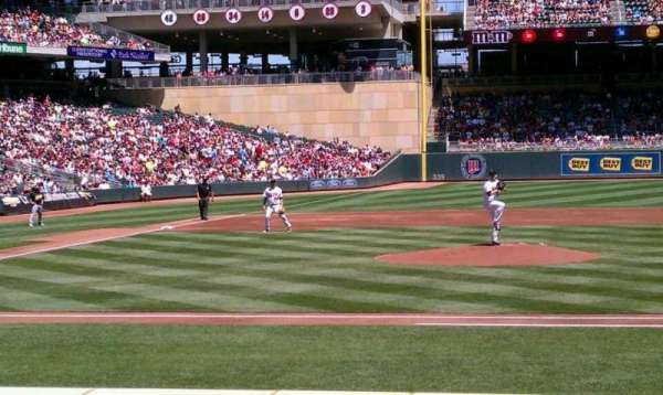 Target Field, section: 5, row: 10, seat: 2