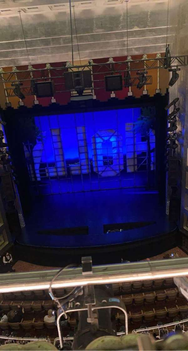 Savoy Theatre, section: Upper circle, row: A, seat: 11