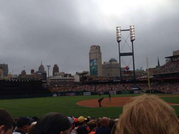 Comerica Park, section: 136, row: 12, seat: 1