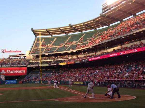 Angel Stadium, section: F113, row: E, seat: 12