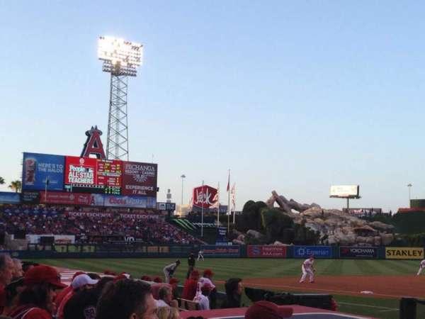 Angel Stadium, section: 113, row: E, seat: 12