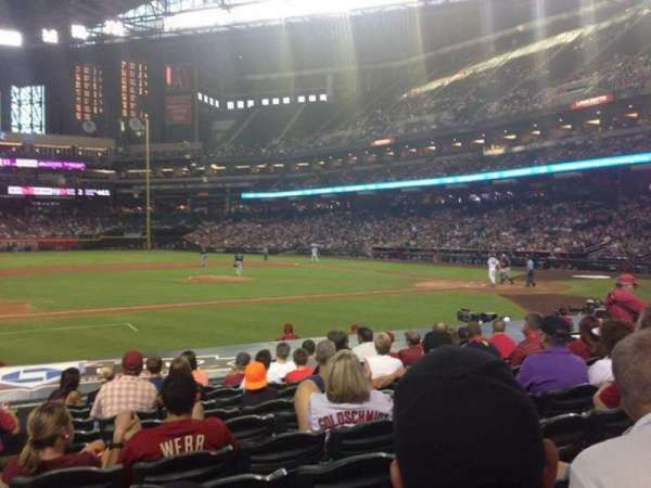Chase Field, section: O, row: 15, seat: 12