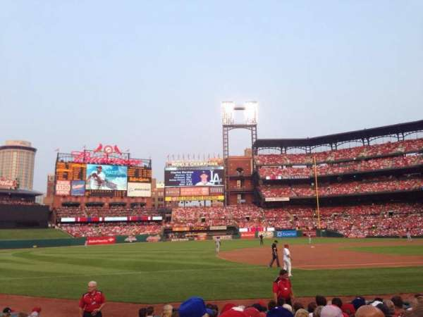 Busch Stadium, section: 159, row: 1, seat: 12