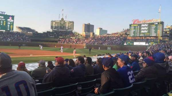 Wrigley Field, section: 23, row: 11, seat: 1