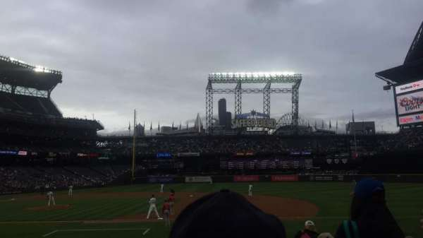 T-Mobile Park, section: 121, row: 16, seat: 1