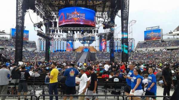 Camping World Stadium, section: 112R, row: F, seat: 5