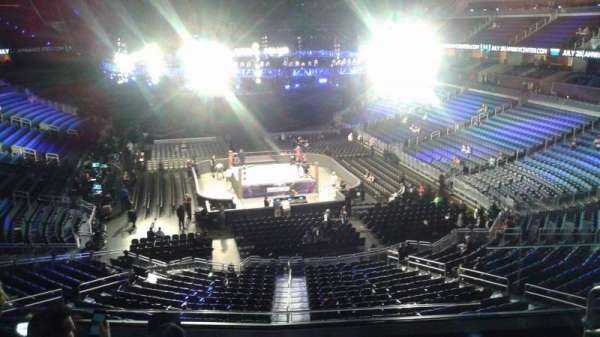 Amway Center, section: 111A, row: 27, seat: 4