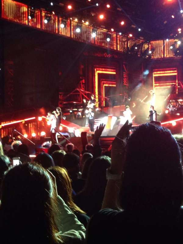 Gillette Stadium, section: A3, row: 27, seat: 6