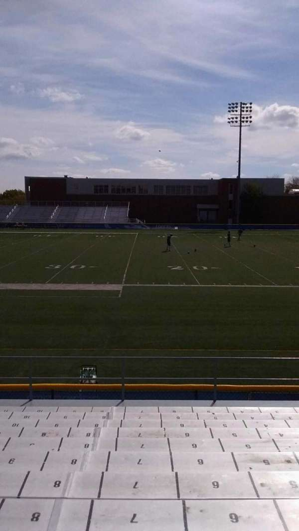 Cope Stadium, section: A, row: 12, seat: 7