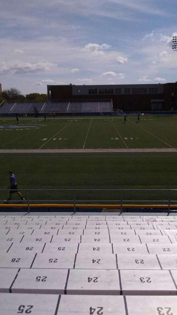 Cope Stadium, section: B, row: 13, seat: 24