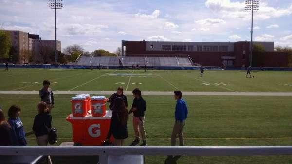 Cope Stadium, section: C, row: 1, seat: 52